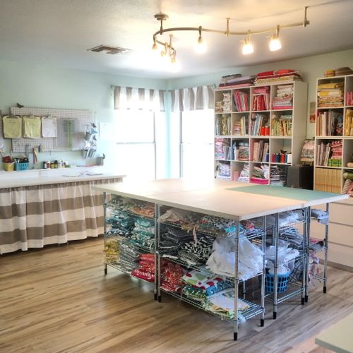 Build Your Own Diy Cutting Table For Sewing Room Stop